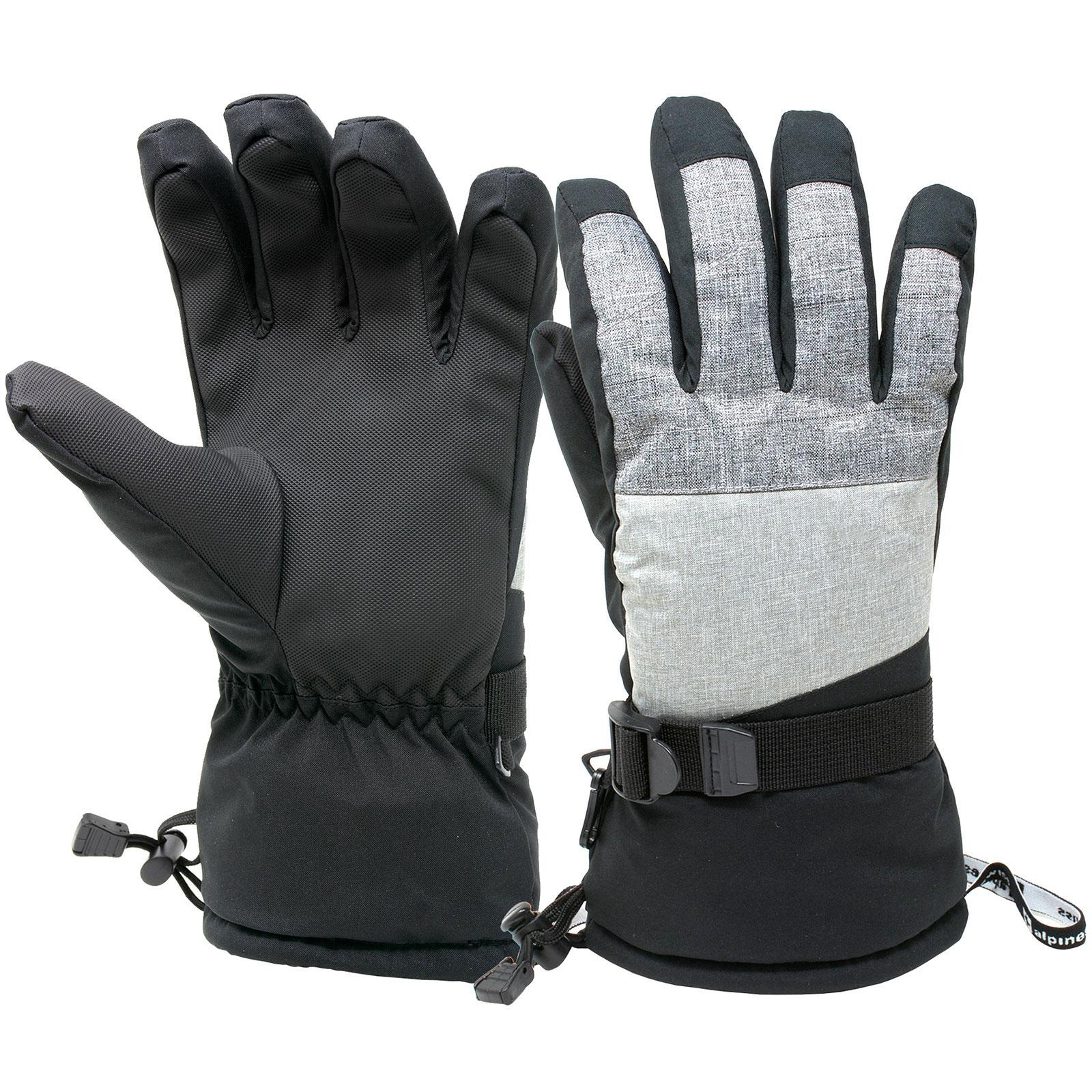 alpine-swiss-mens-waterproof-ski-gloves